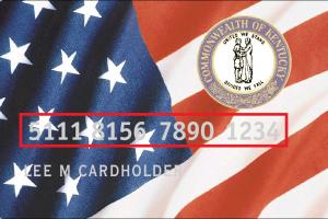 """""""Kentucky EBT Card"""""""