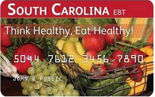"""South Carolina EBT Card Balance"""