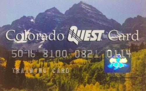 """Colorado EBT Card"""