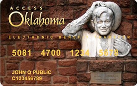 """""""Oklahoma EBT Card Balance"""""""