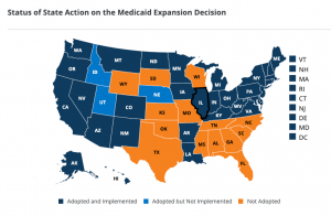 Medicaid Expansion By State Food Stamps Ebt