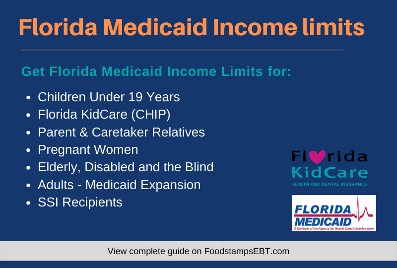Florida Medicaid Income Limits For 2020 Food Stamps Ebt