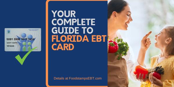 """""""Florida EBT Card"""""""