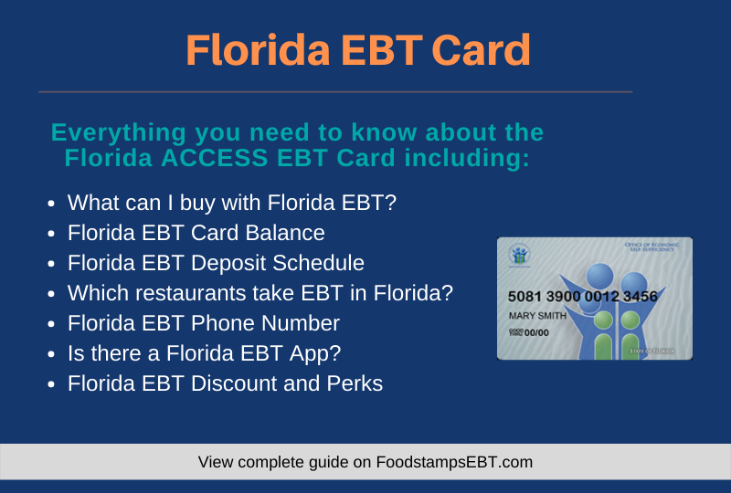 """Florida EBT Card Questions and Answers"""