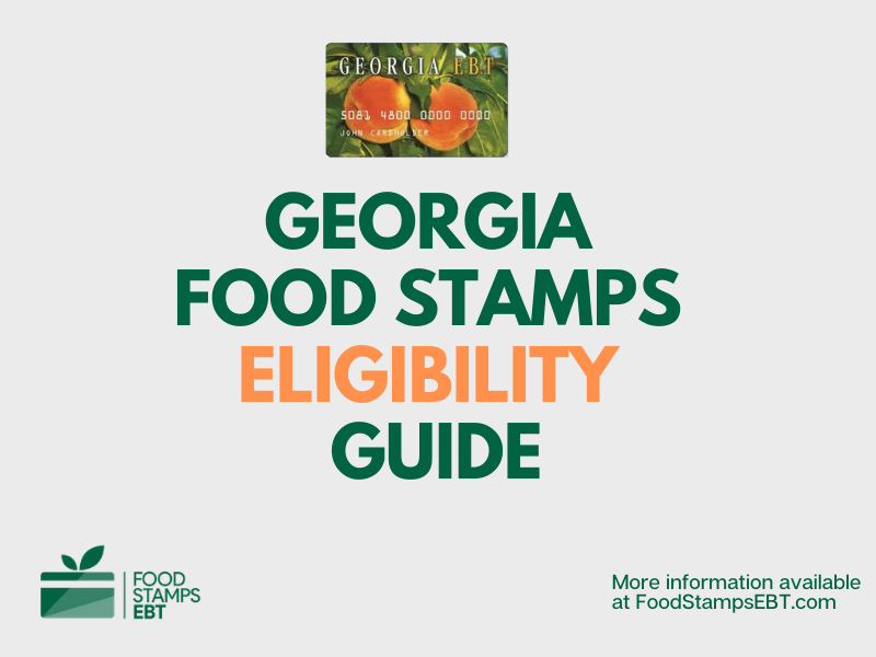 """Georgia food Stamps Eligibility Guide"""