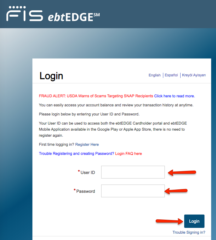"""How to Login into EBT Edge - 1"""