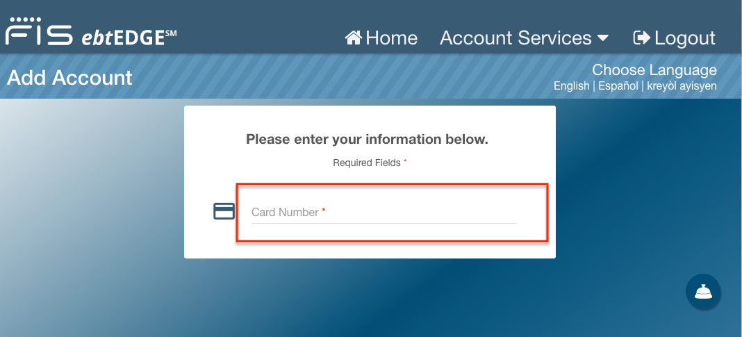"""How to create EBT Edge account - add your EBT card"""