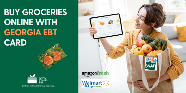 """Buy groceries online with Georgia EBT Card"""