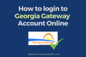 """Georgia Gateway Account Login"""