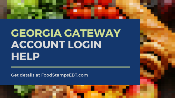 """Georgia Gateway Account Login Help"""