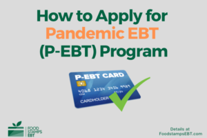 """How to apply for Pandemic EBT (P-EBT)"""