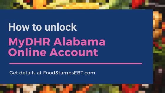 """How to unlock MyDHR Alabama Account"""