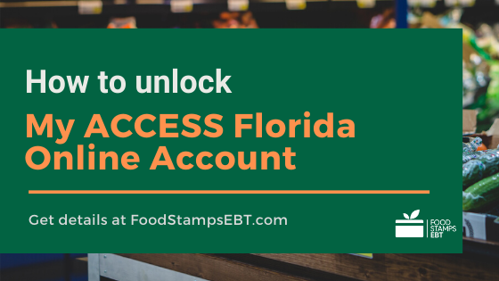 """How to unlock my ACCESS Florida Account"""