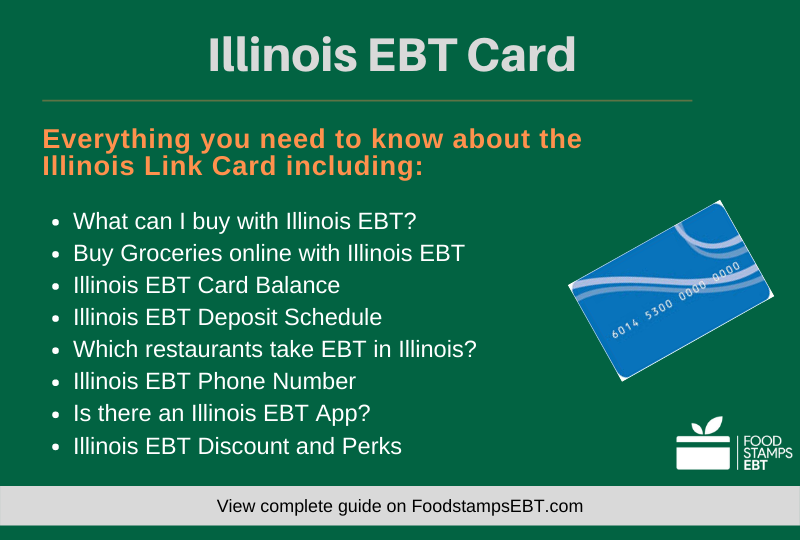 """""""Illinois EBT Card Questions and Answers"""""""