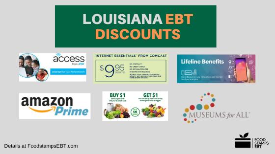 """""""Louisiana EBT Discounts"""""""