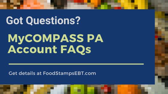 """MYCOMPASS PA account FAQS"""