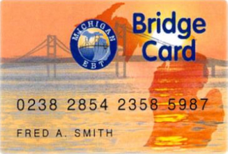 """Michigan EBT Bridge Card"""