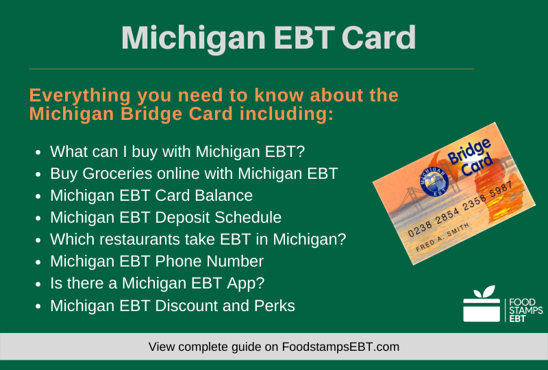 """Michigan EBT Card Questions and Answers"""