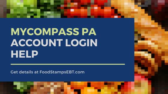 """MyCOMPASS PA Account Login help"""