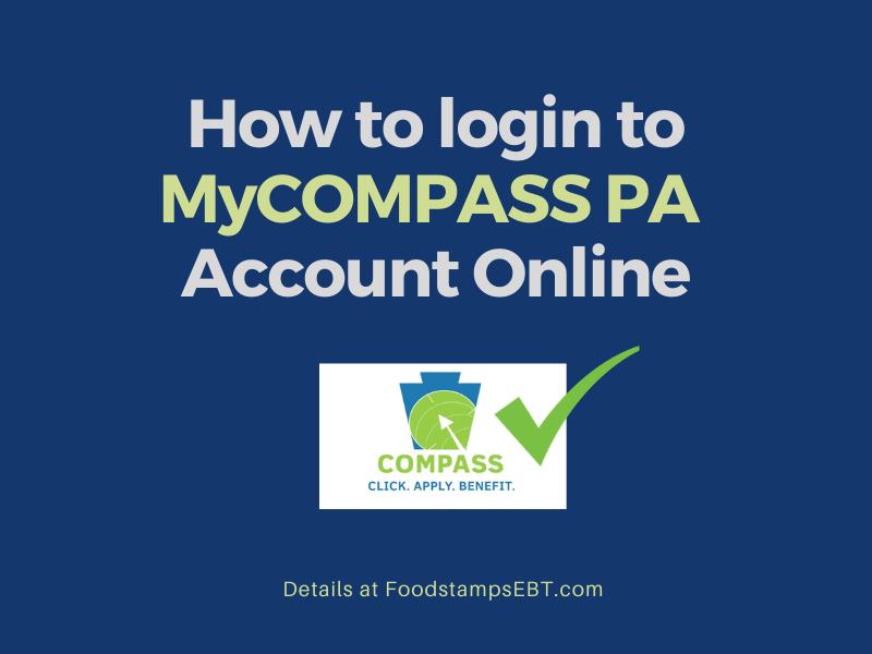"""""""MyCOMPASS PA Account Login"""""""