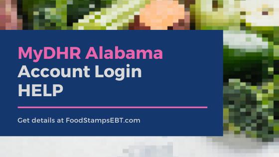 """""""MyDHR Alabama Account Login Help"""""""