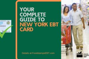 """New York EBT Card"""