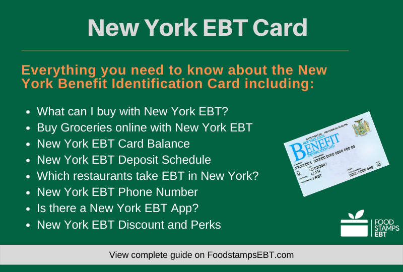 """New York EBT Card Questions and Answers"""