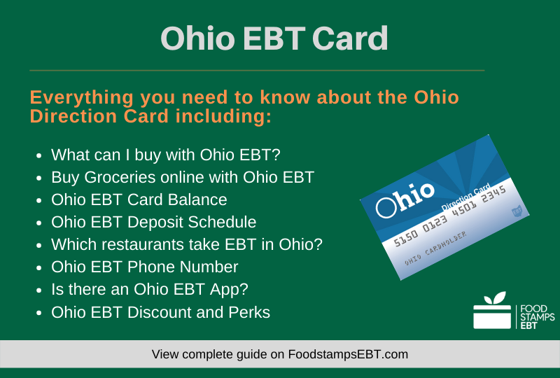 """Ohio EBT Card Questions and Answers"""