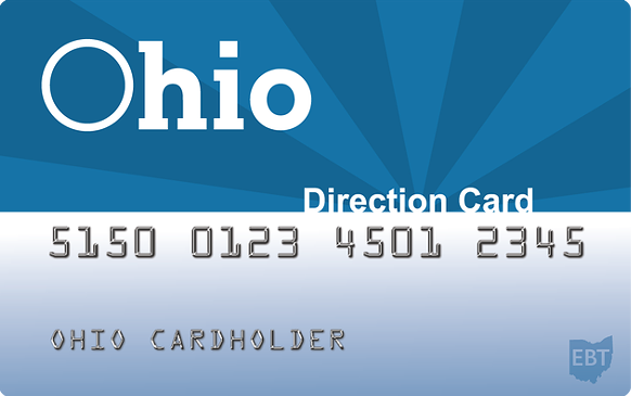 """Ohio EBT Direction Card"""