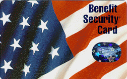 """""""Tennessee EBT Benefit Security Card"""""""