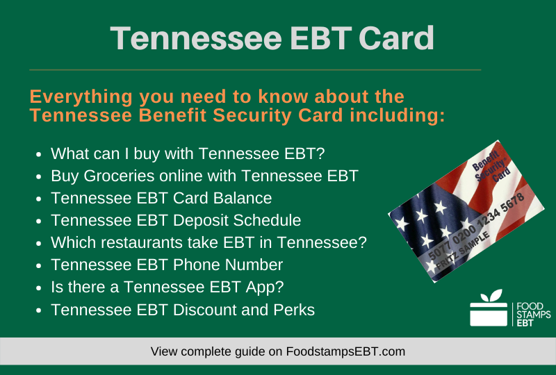 """Tennessee EBT Card Questions and Answers"""