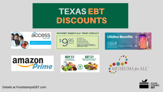 """Texas EBT Discounts"""
