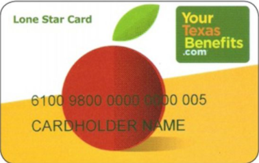 """Texas EBT Lone Star Card"""