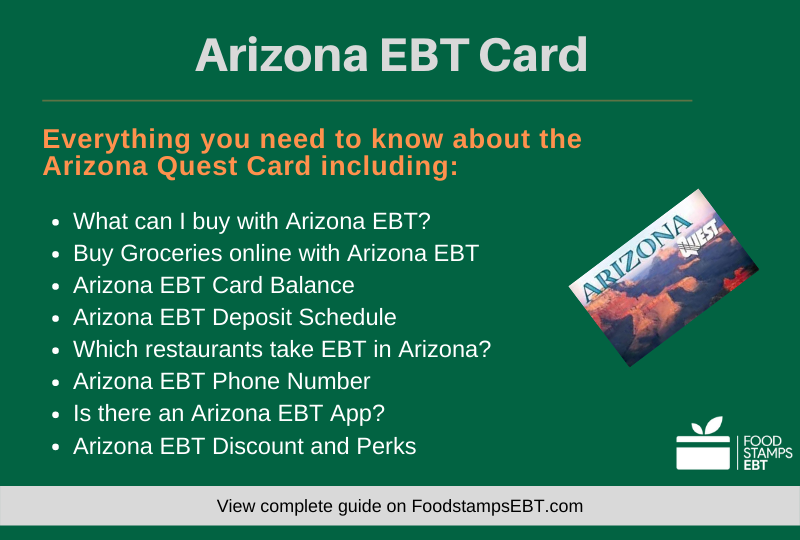"""Arizona EBT Card Questions and Answers"""