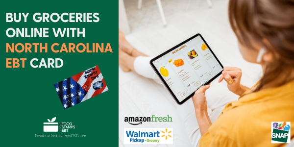 """Buy groceries online with North Carolina EBT Card"""