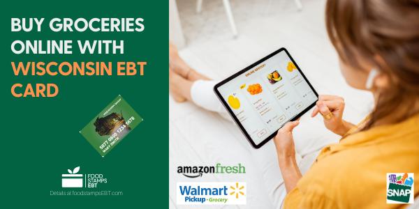 """Buy groceries online with Wisconsin EBT Card"""