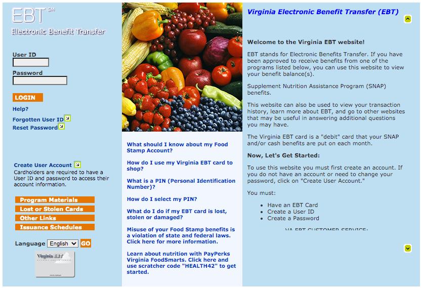 """""""How Do I check my Virginia EBT Card Balance Online"""""""