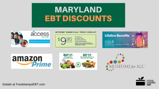 """Maryland EBT Discounts"""