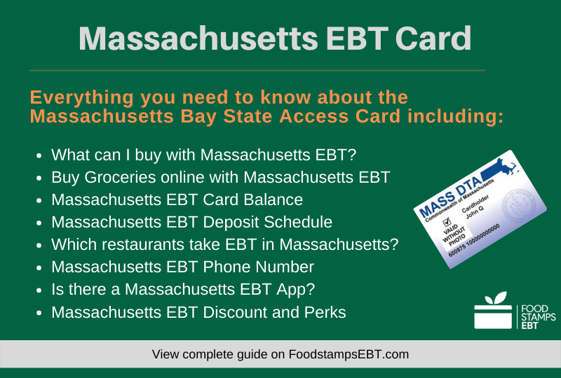 """Massachusetts EBT Card Questions and Answers"""