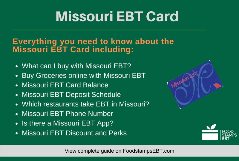 """Missouri EBT Card Questions and Answers"""