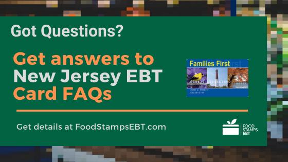 """""""New Jersey EBT Card FAQs"""""""