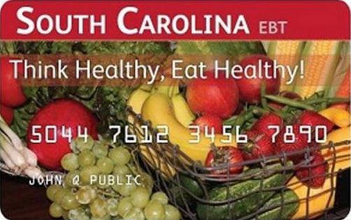 """South Carolina EBT Card"""