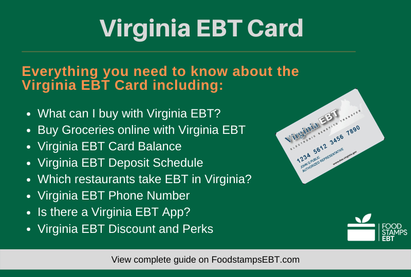 """""""Virginia EBT Card Questions and Answers"""""""