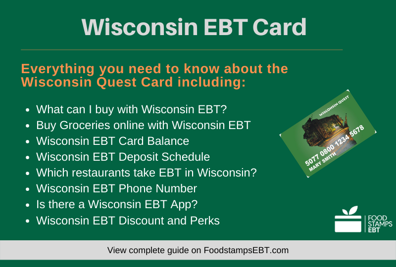 """Wisconsin EBT Card Questions and Answers"""