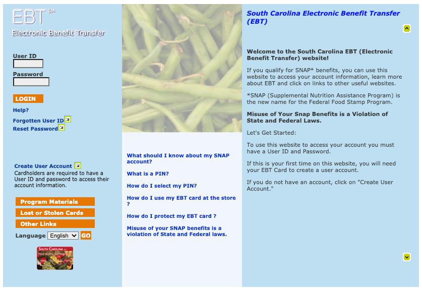 """""""How Do I check my South Carolina EBT Card Balance Online"""""""