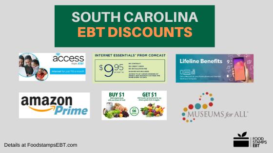 """South Carolina EBT Discounts"""