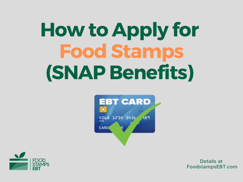 """How to Apply for Food Stamps"""