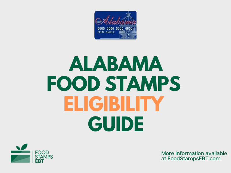 """""""Alabama Food Stamps Eligibility Guide"""""""