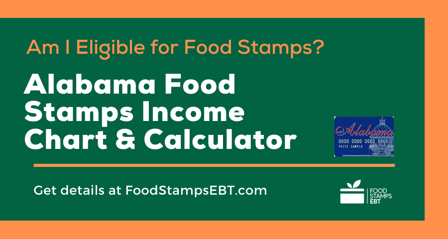 """Alabama Food Stamps Income Chart and Calculator"""