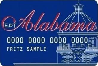 """""""Alabama SNAP EBT Card"""""""